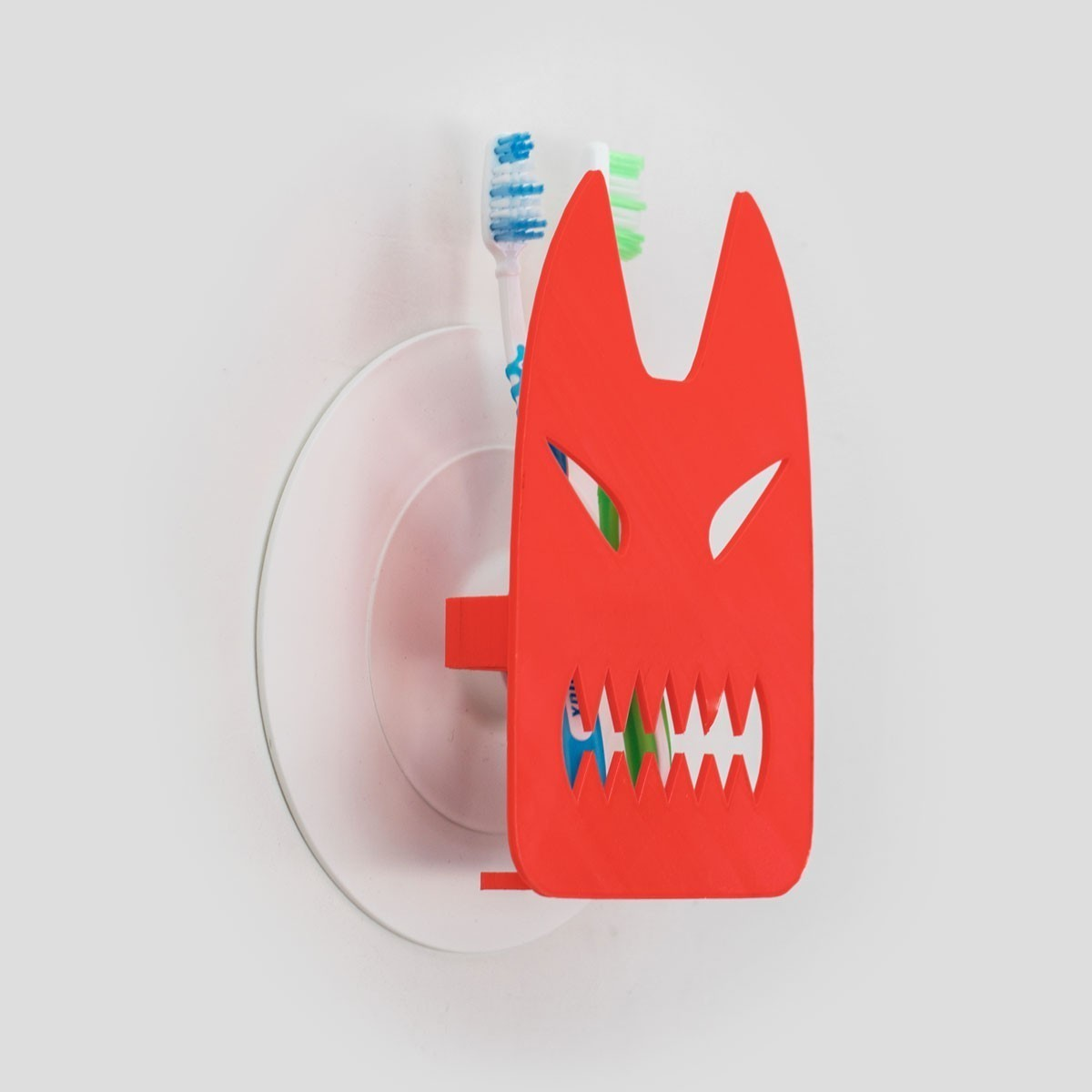 toothy_04.jpg Download free STL file Toothy - Toothbrush Holder • 3D printable design, EUMAKERS