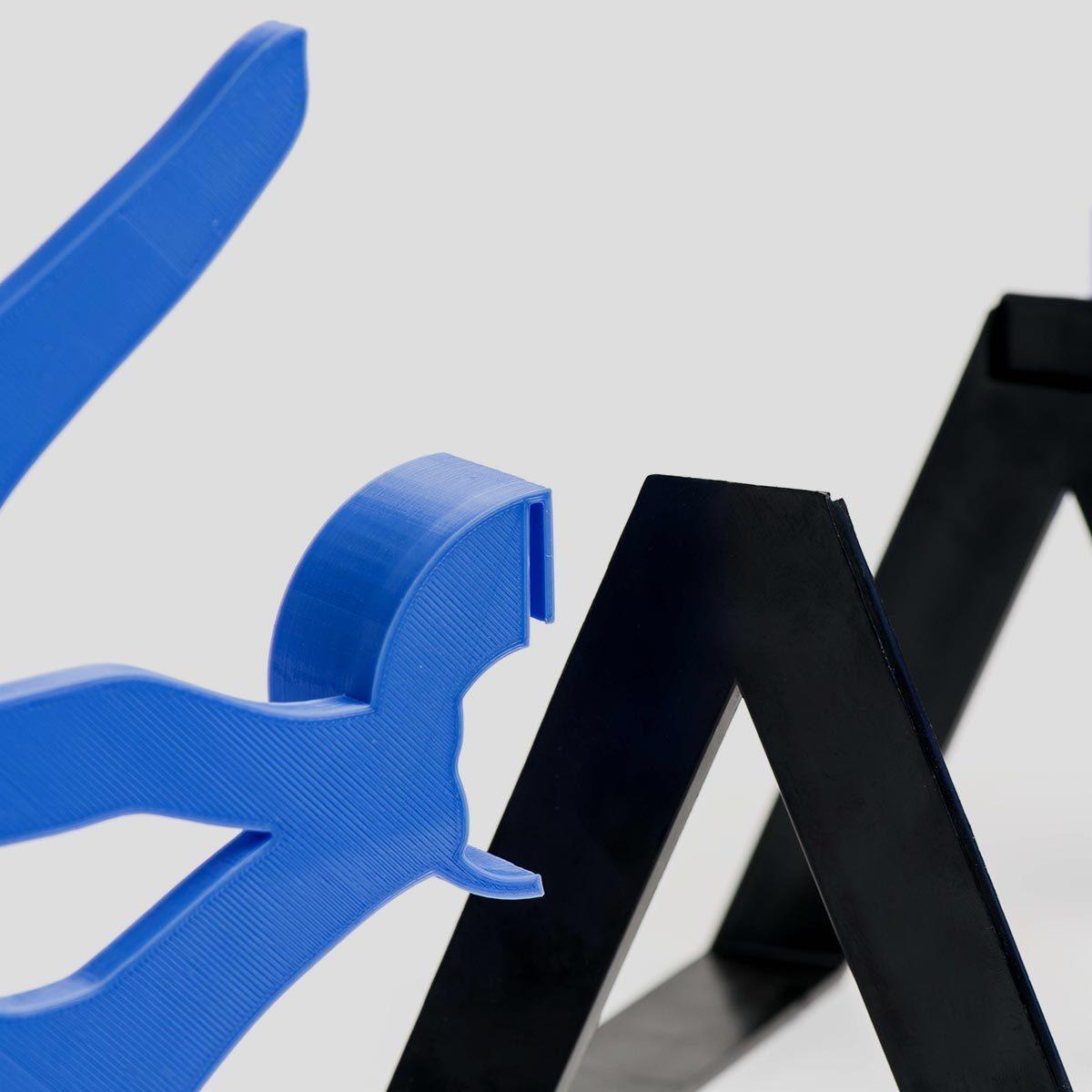Biblio_06.jpg Download free STL file Biblio - Bookends • 3D printable model, EUMAKERS