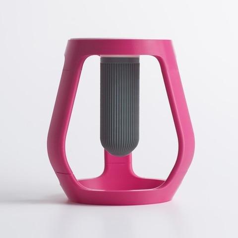 gravity_03.jpg Download free STL file Gravity - Flower vase • 3D printing object, EUMAKERS