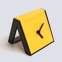Free 3D printer files Times Square #2 - Tabletop clock, EUMAKERS
