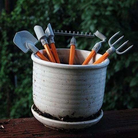 Download free 3D printing models Desktop Gardening Tools, Trisha