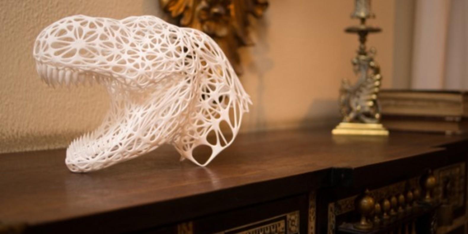 3D-REX, the Tyrannosaurus Rex printed in 3D