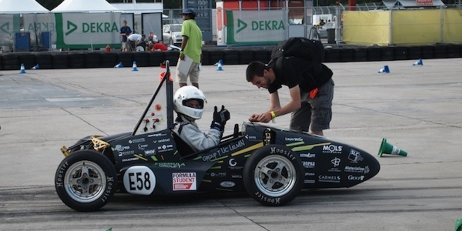 The Areion, the first race car printed in 3D