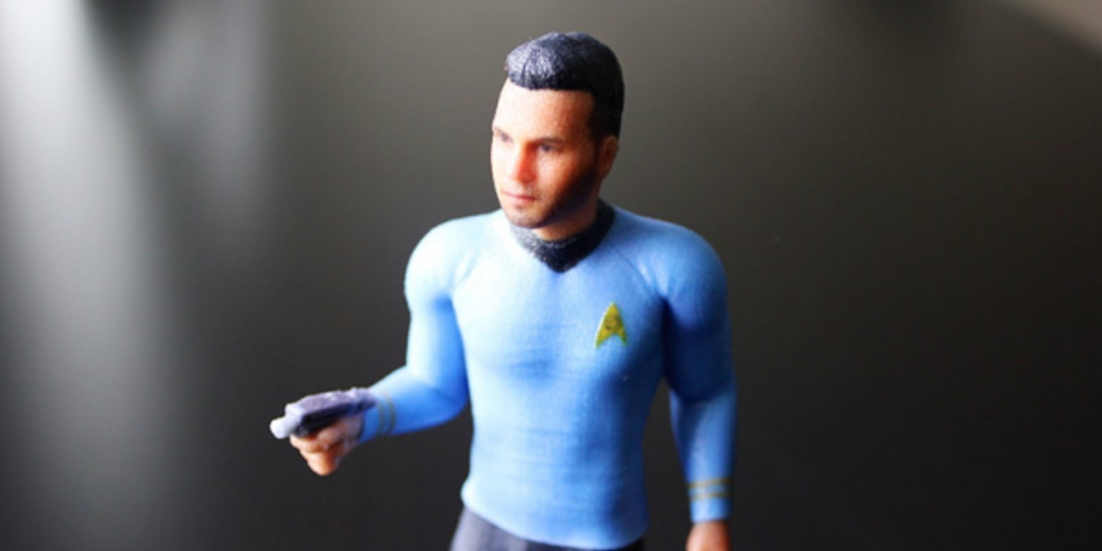 A Star Trek figure with your face