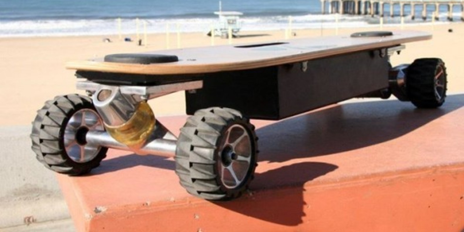 Zboard, mixes skateboard and 3D printing