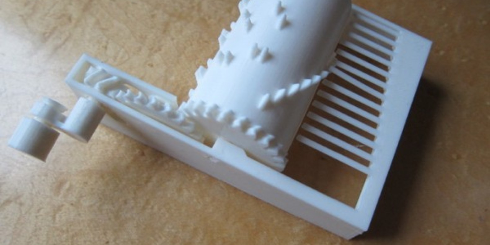 A music box to be printed in 3D