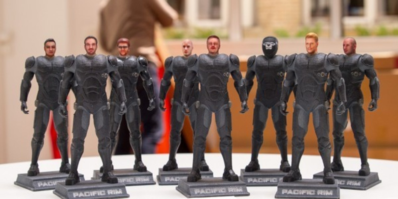 Blogger figures for the release of Pacific Rim