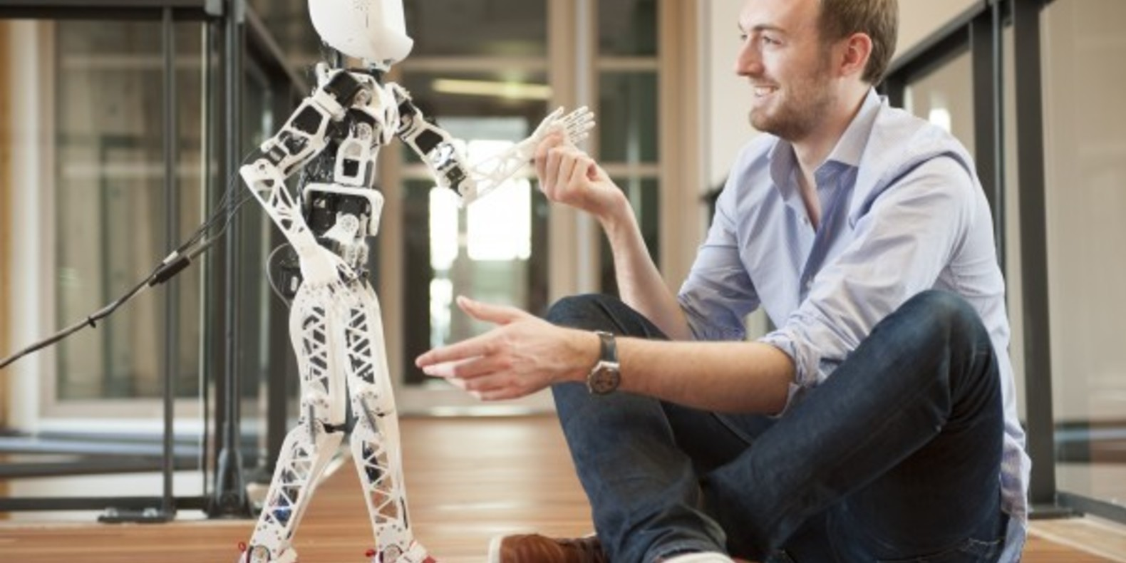 Poppy Project, a 3D printing robot created in France