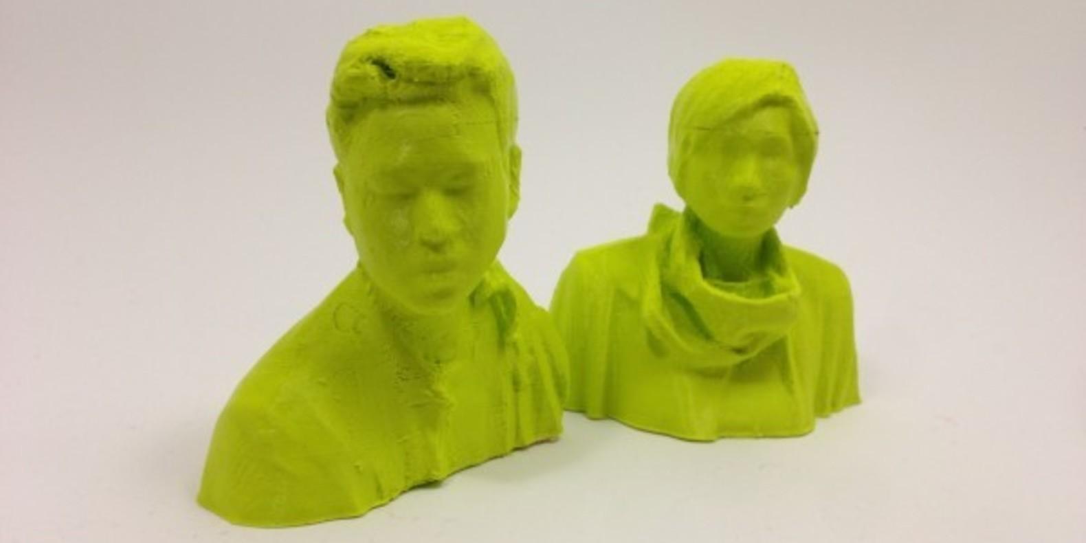 XYZ Workshop two very inspired 3D creators