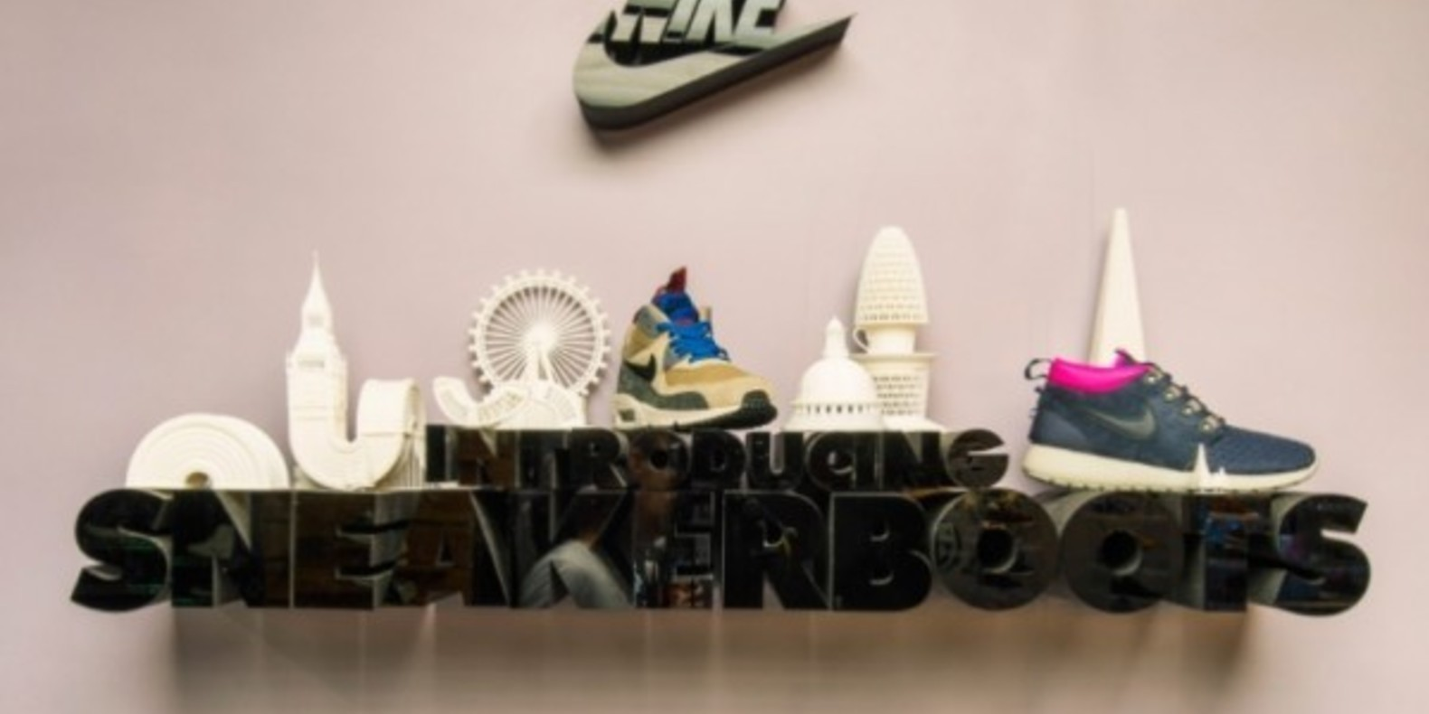 Nike prints in 3D Paris and London
