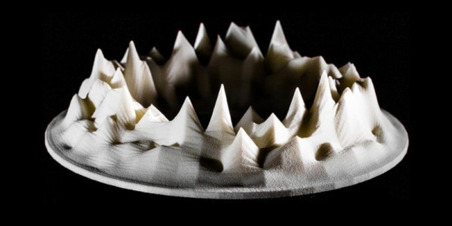 Lukasz Karluk transforms music into digital sculpture