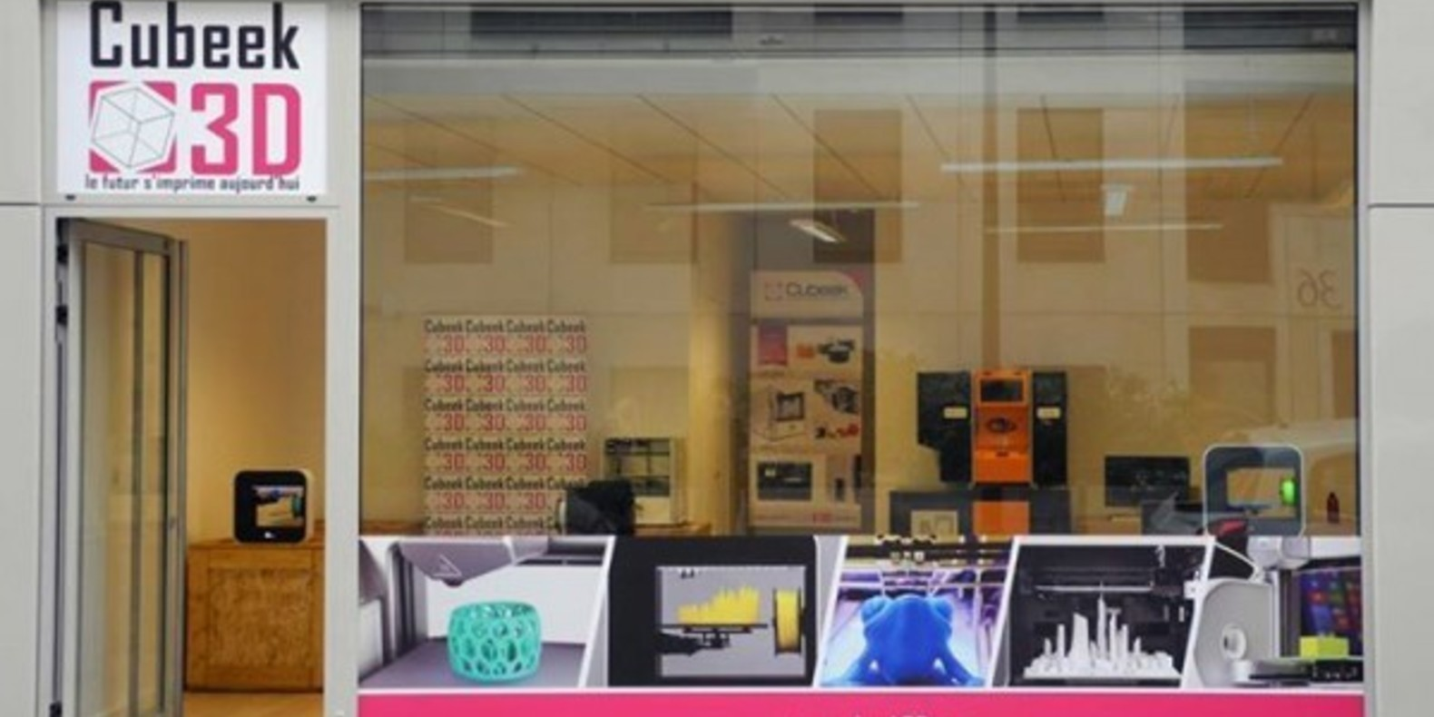 Cubeek 3D, the first 3D printer shop in France