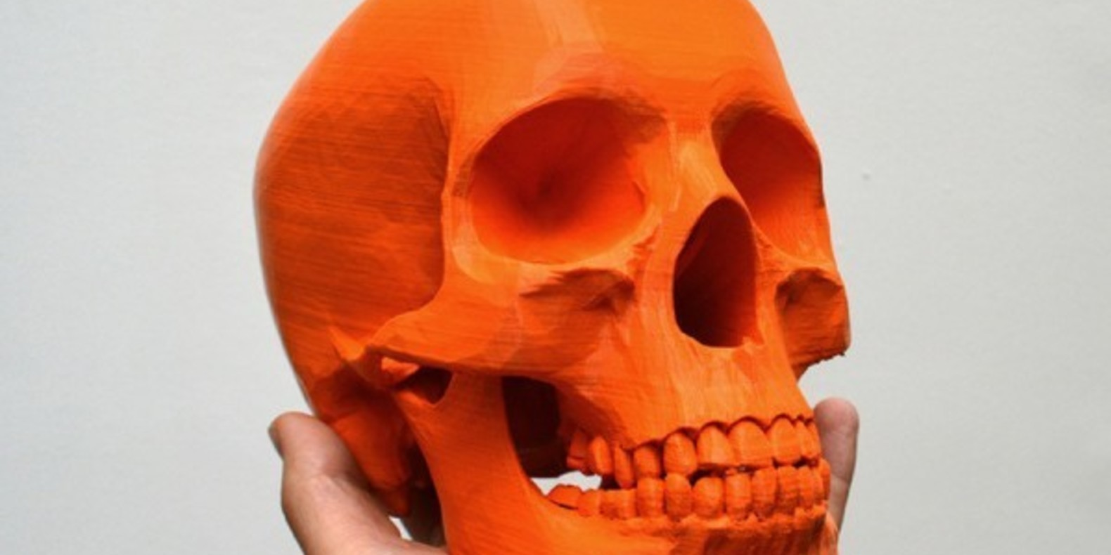 To be or not to be, that is the impression! Top 10 skulls printed in 3D.