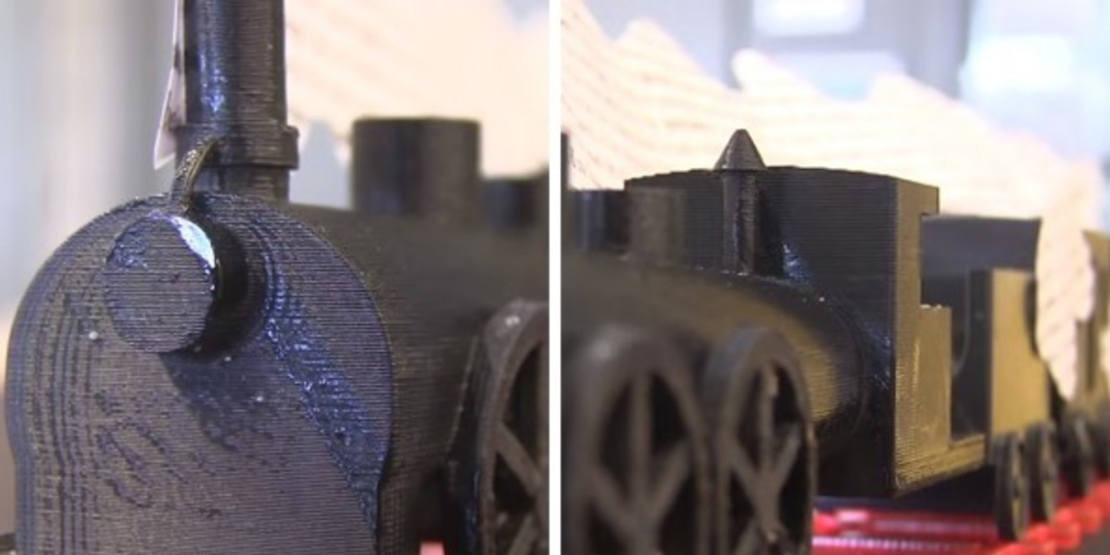 "Zola's train in the ""Human Beast"" is printed in 3D"