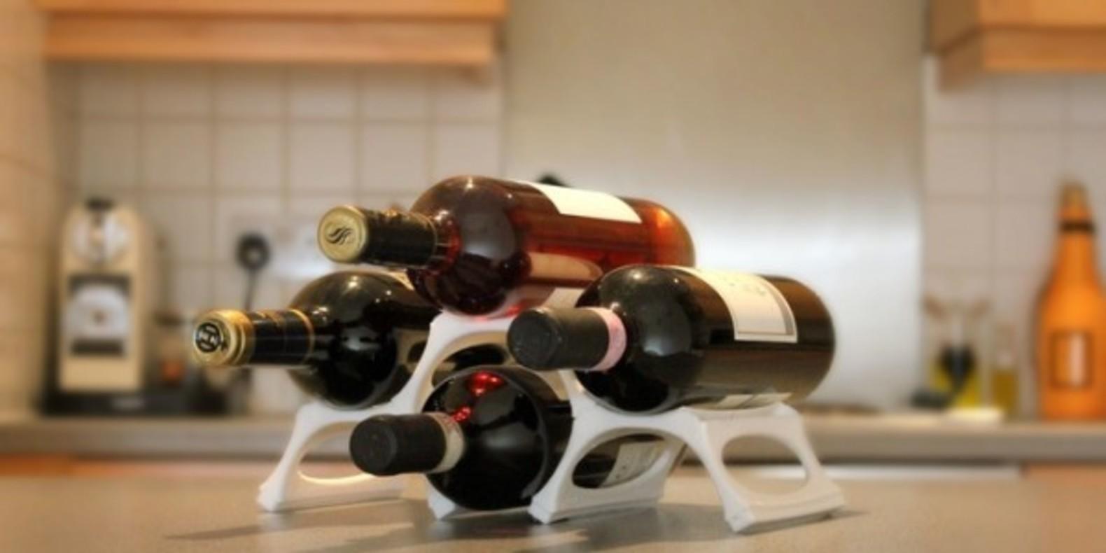 GustaVino, la cave à vin imprimée en 3D.