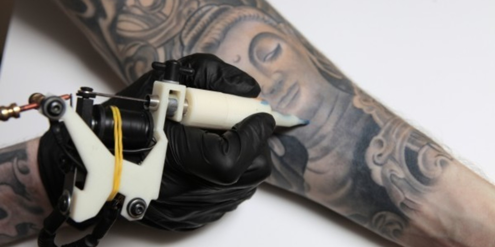 The tattoo machine printed in 3D