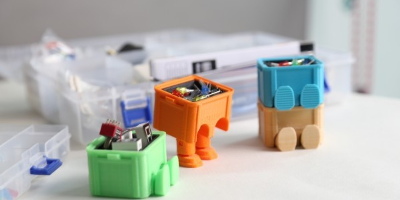 Step Box Step, the mini toolboxes printed in 3D
