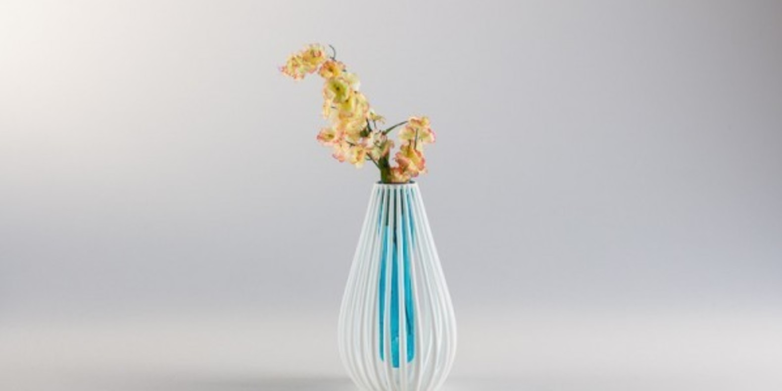 The Marine Vase printed in 3D