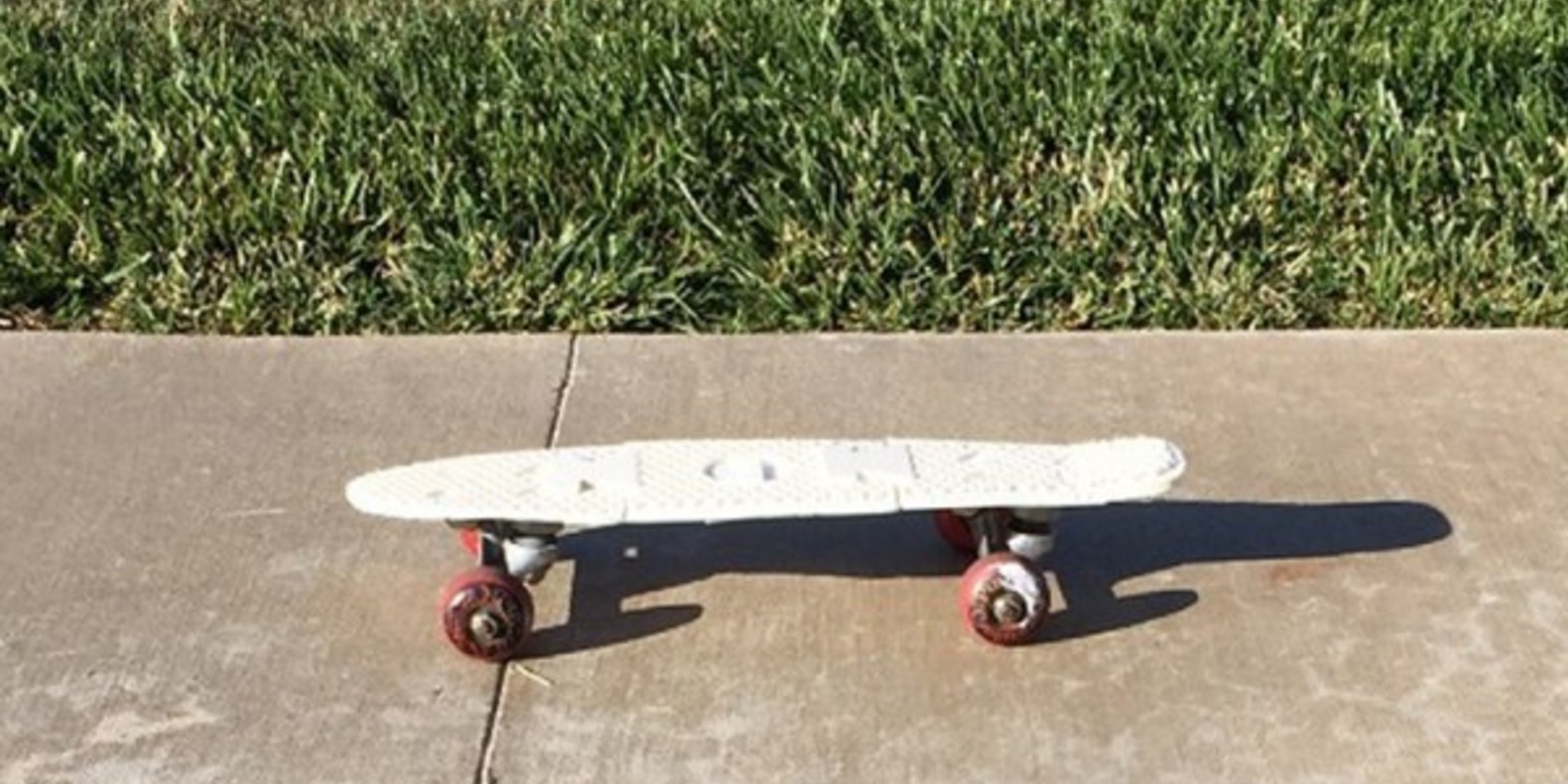 A Penny Board printed in 3D