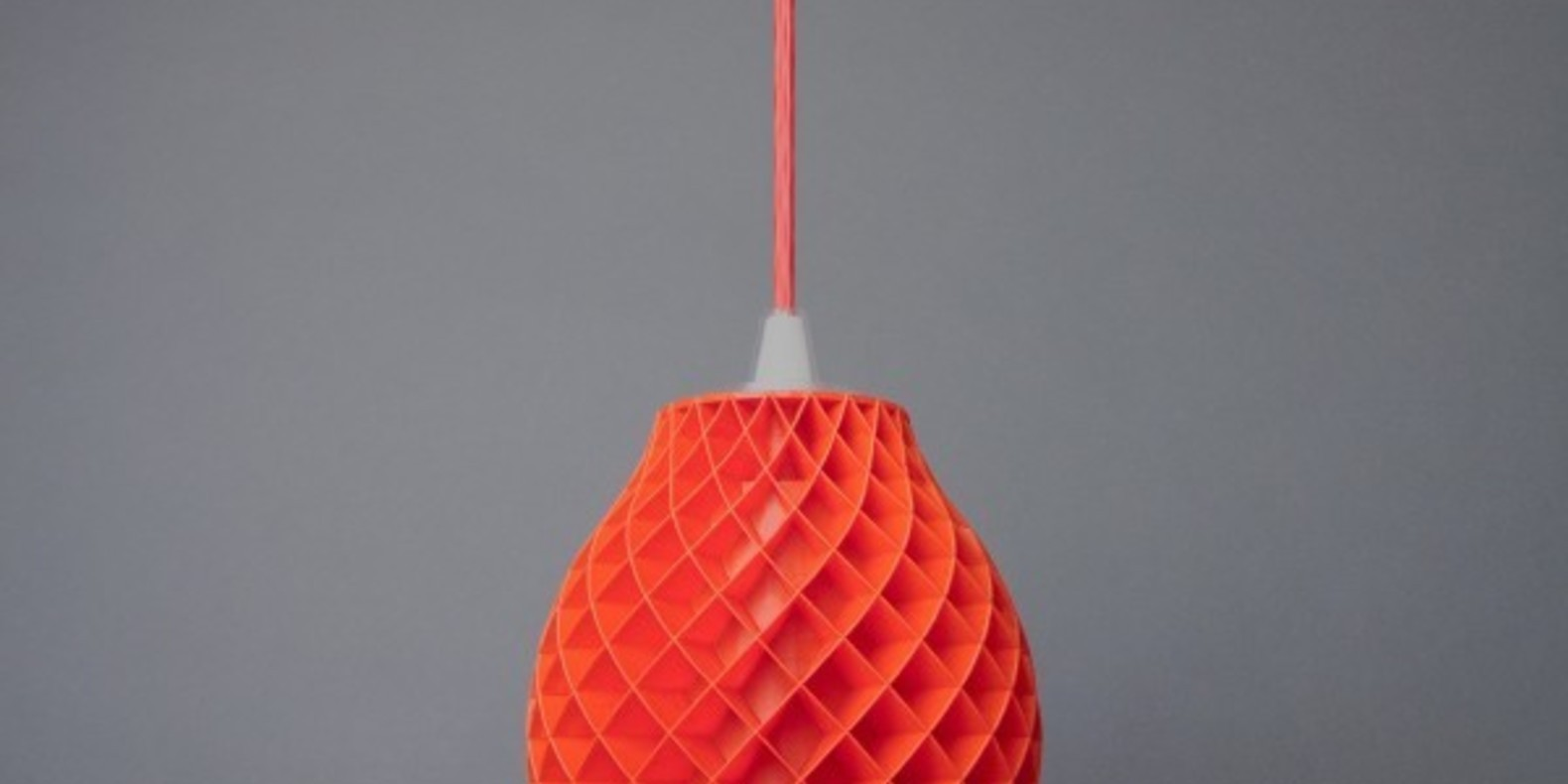 A design lamp printed in 3D
