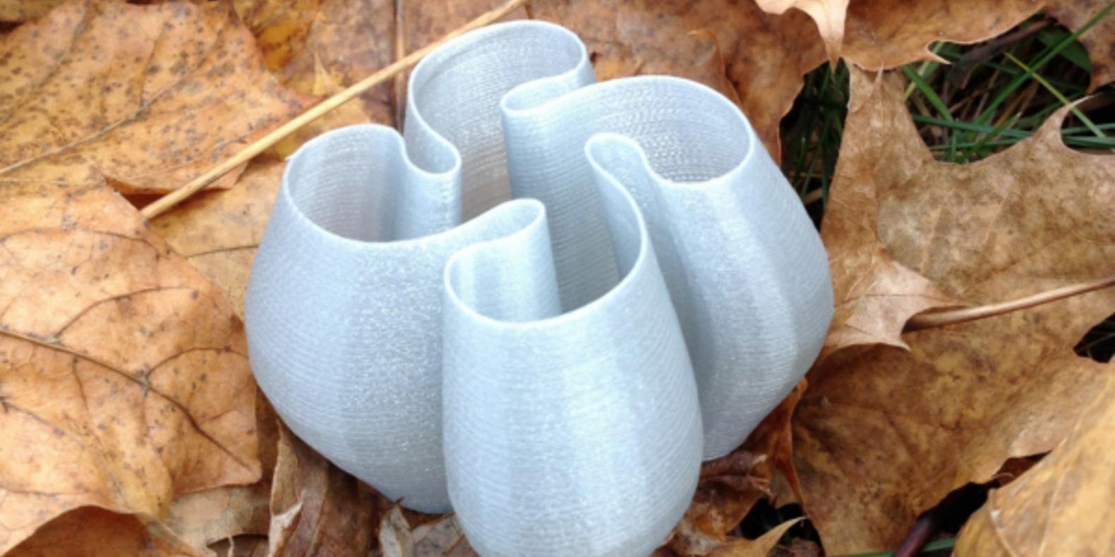 Des vases imprimés en 3D