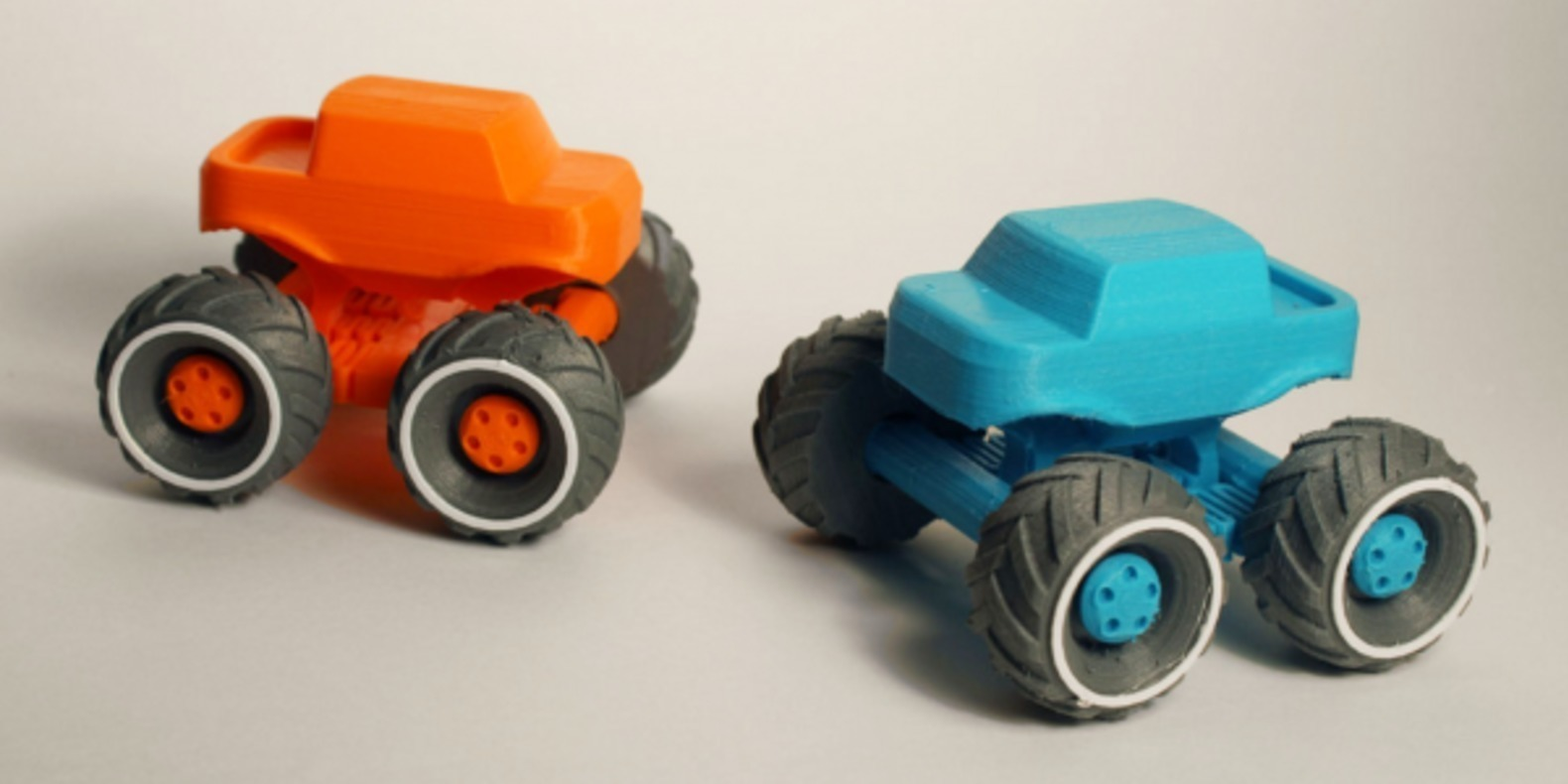 Un petit Monster Truck imprimé en 3D