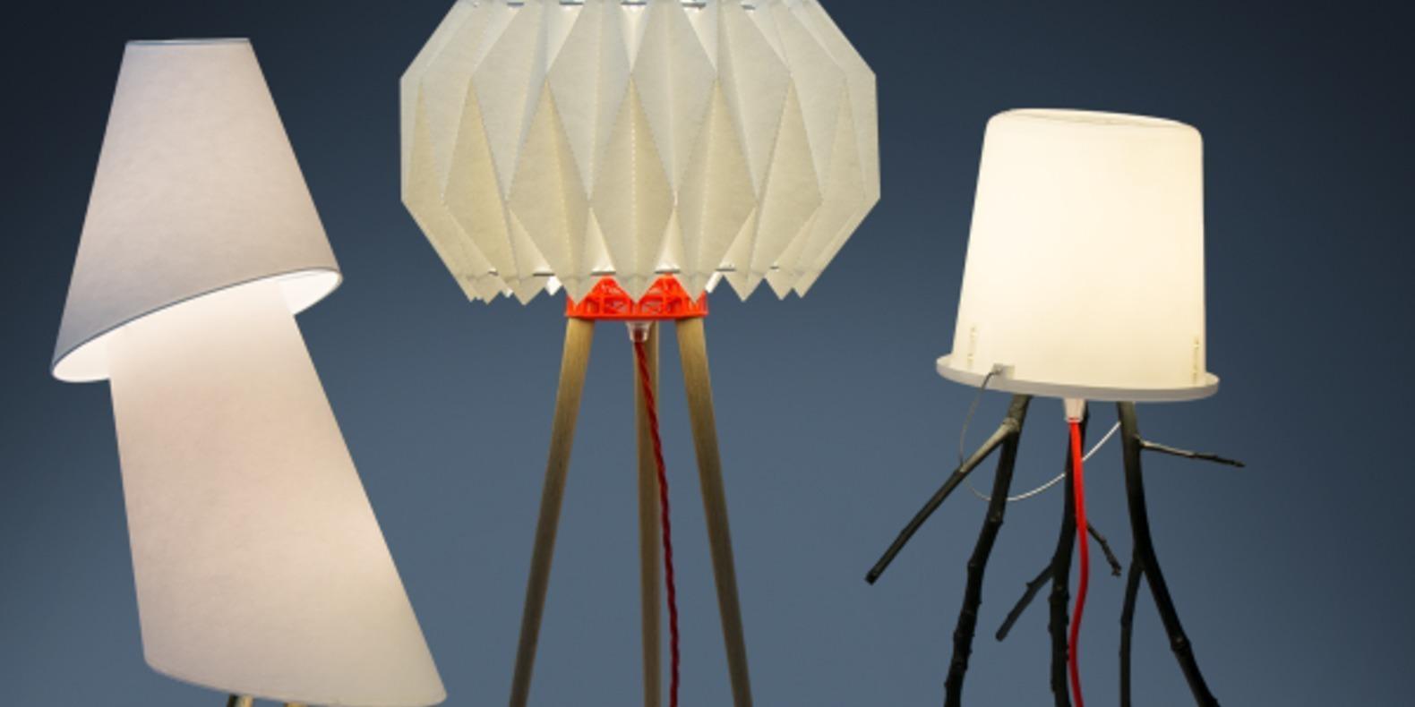 La lampe trépied de MYO