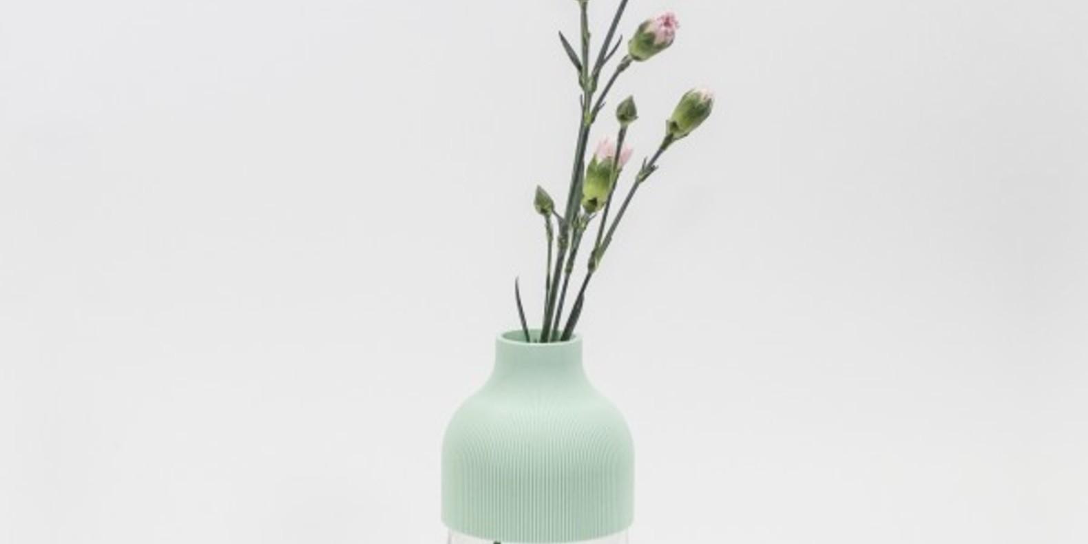 VASE1, vase imprimé en 3D des créateurs UAU Project