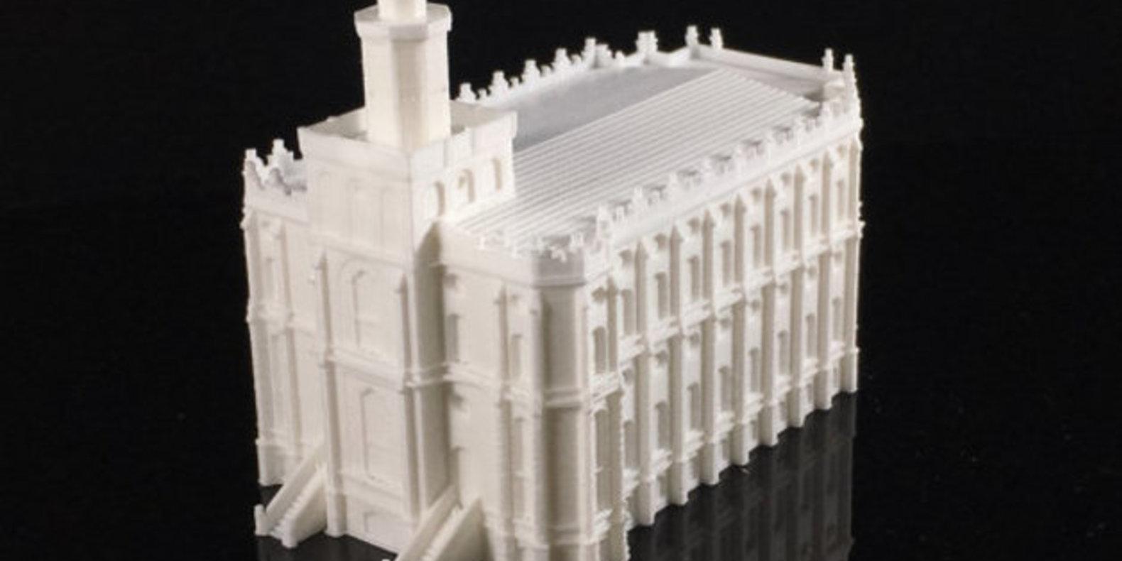Des églises imprimées en 3D