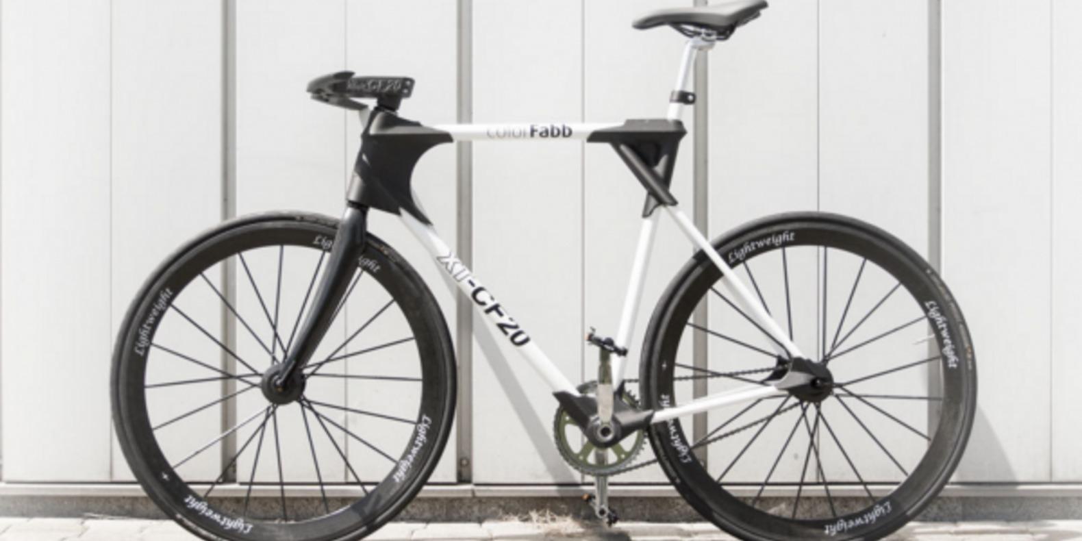 colorFabb imprime un vélo en 3D