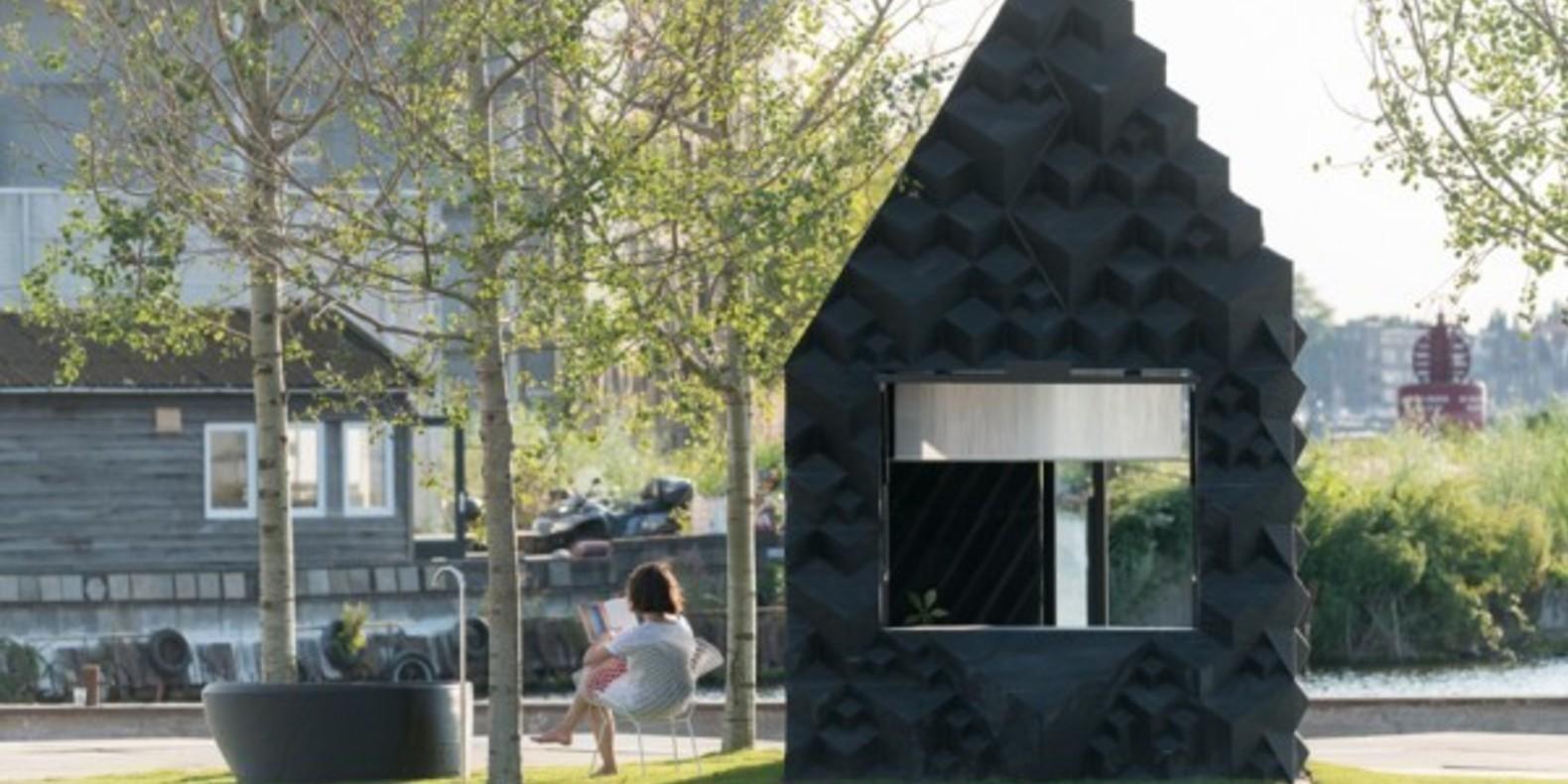 Une petite maison imprimée en 3D à Amsterdam