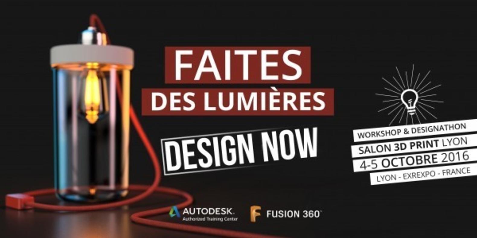 Concours de Design au 3D Print Lyon
