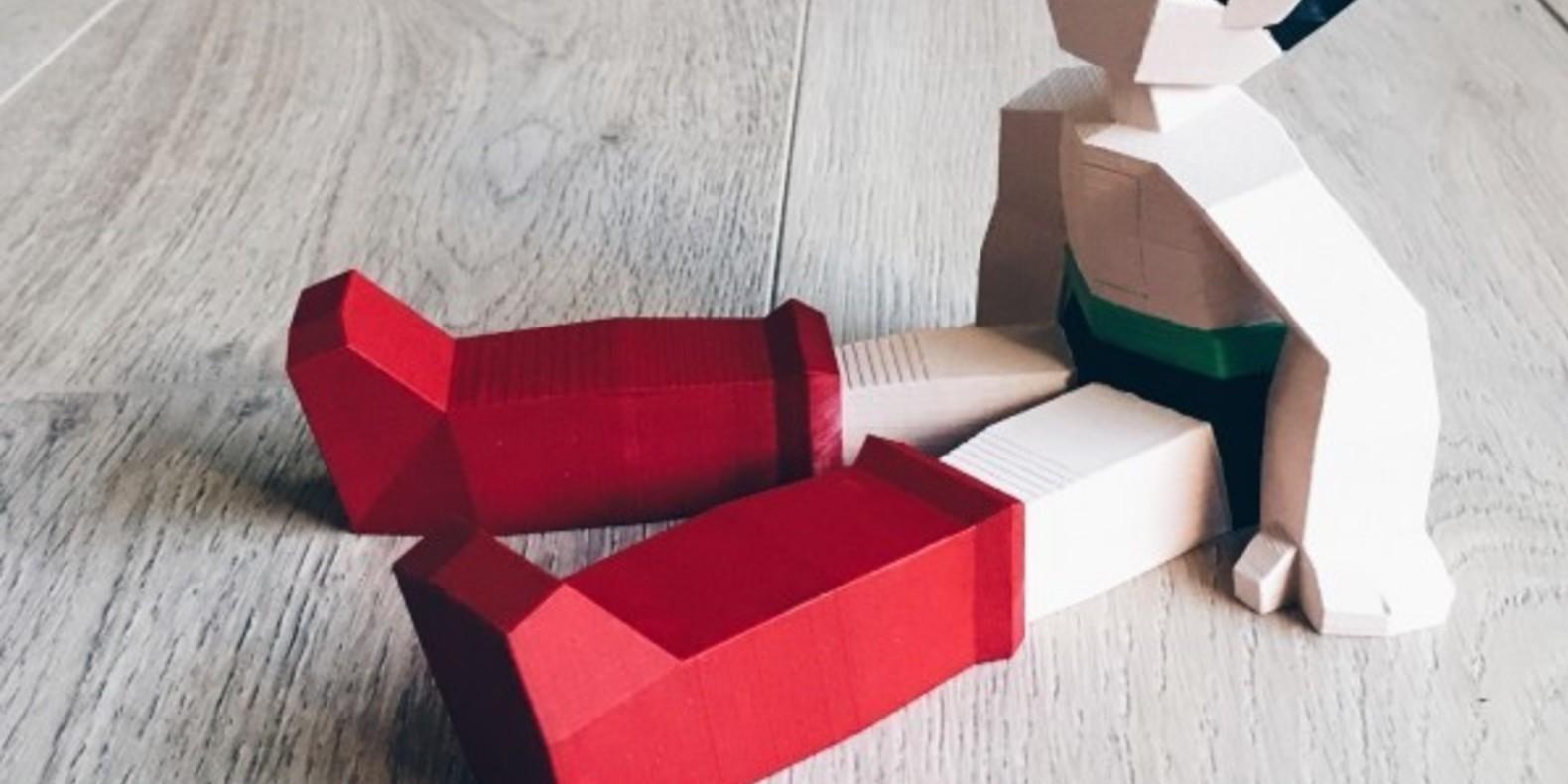 Astro le petit robot imprimé en 3D