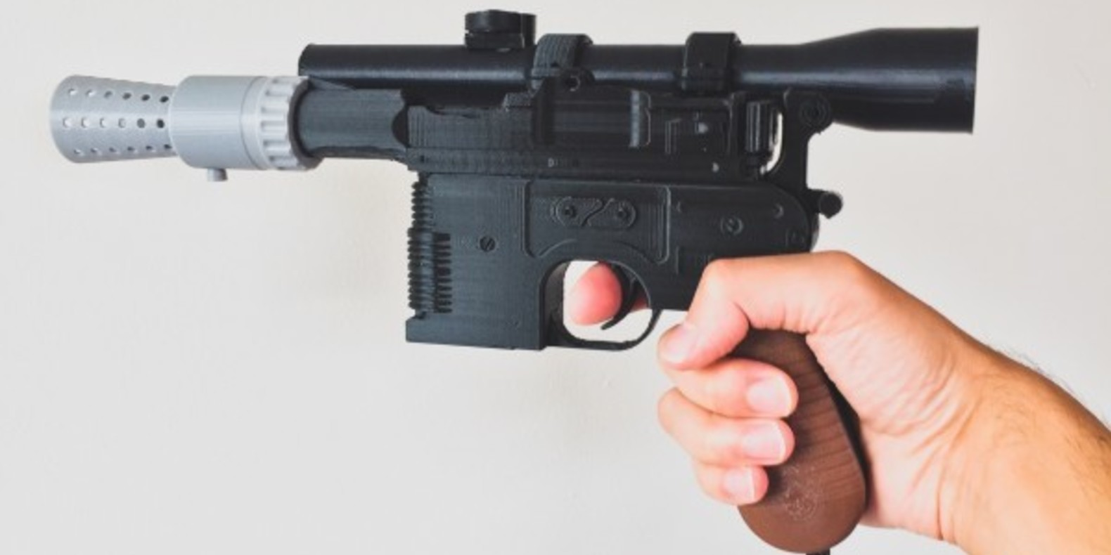 Le pistolet d'Han Solo fabriqué via l'impression 3D
