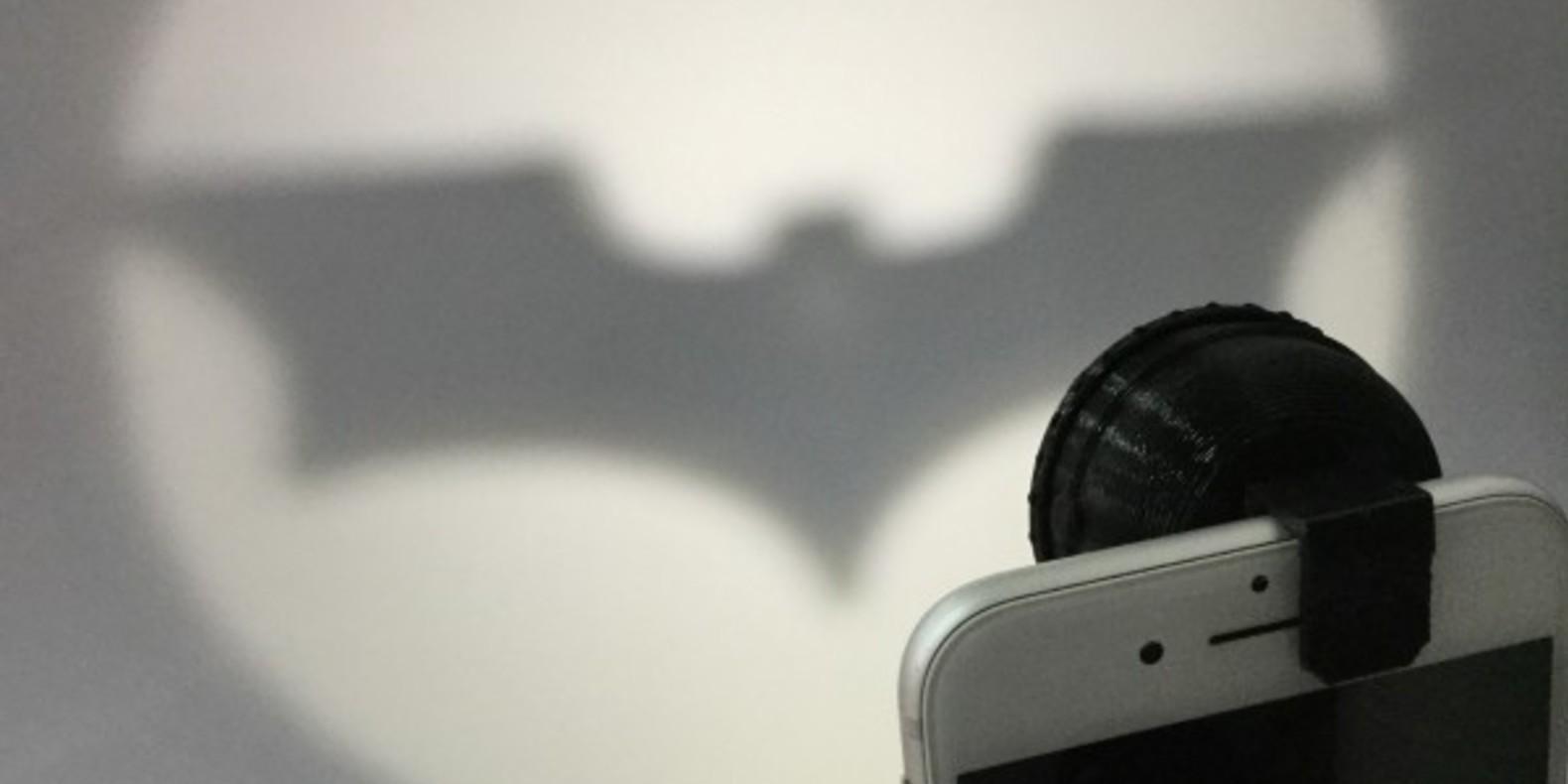 Un bat-signal à imprimer en 3D