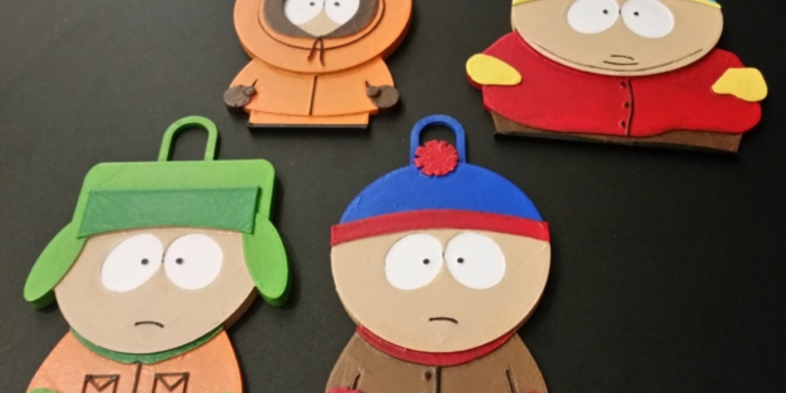 Les personnages de South Park à imprimer en 3D