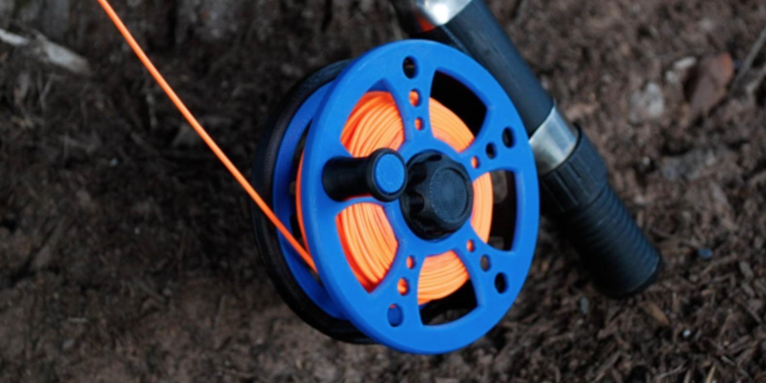 Un moulinet pour pêche à la mouche imprimé en 3D