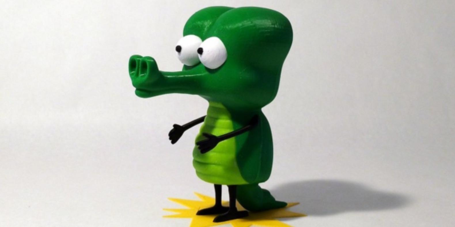 Les personnages de Pearls Before Swine imprimés en 3D