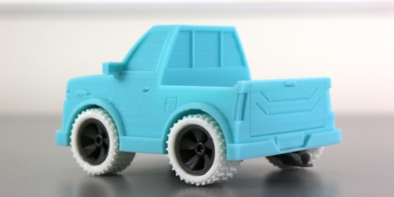 Un 4x4 imprimé en 3D