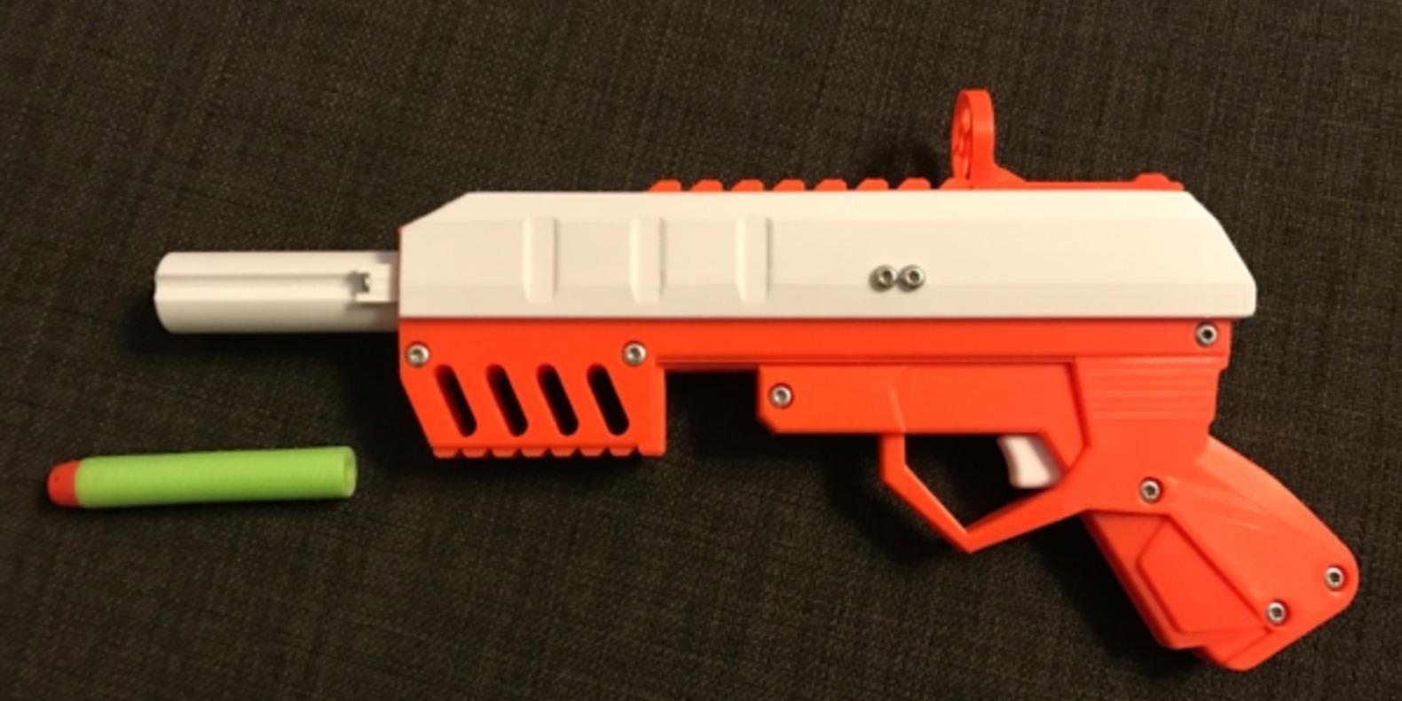 Pistolet NERF imprimé en 3D