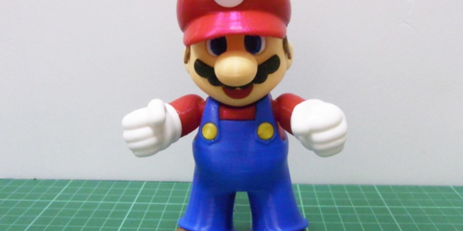 Super Mario imprimé en 3D