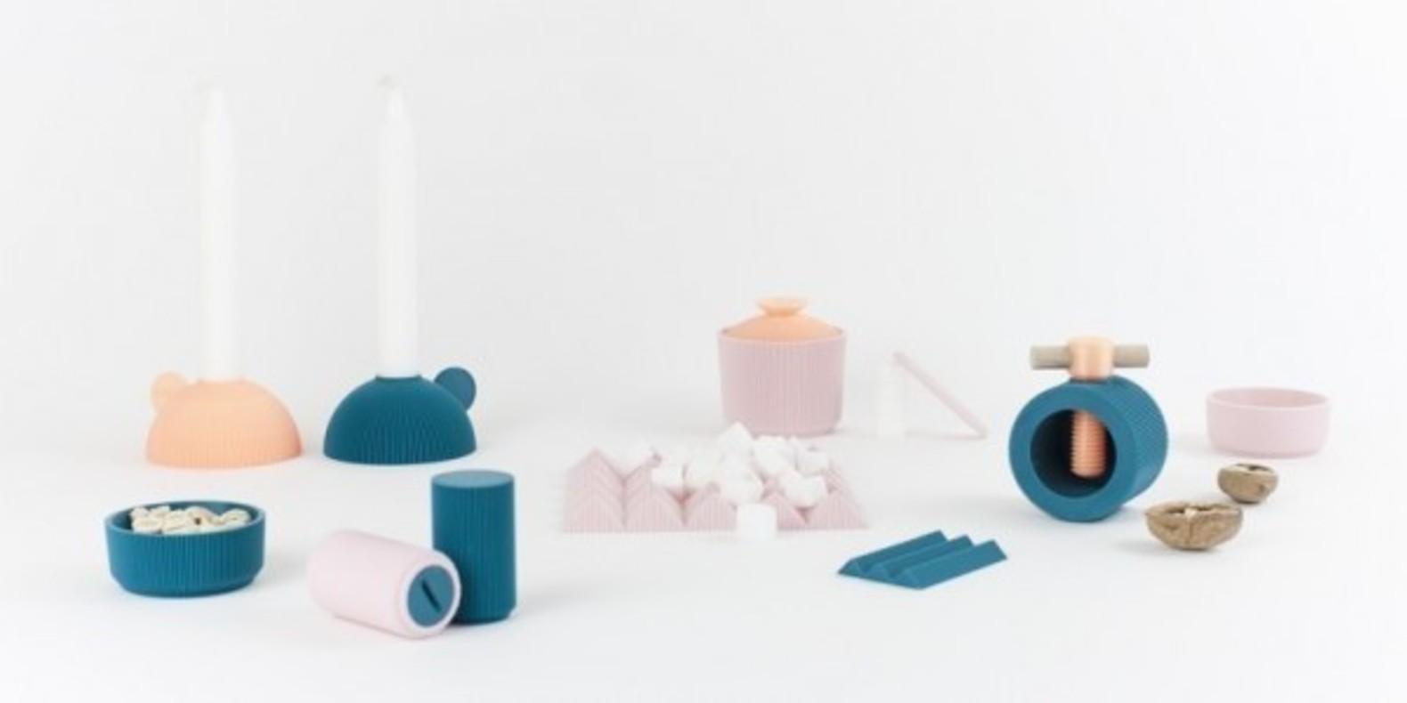TABLE7, le collection de vaisselle imprimable en 3D par UAU project