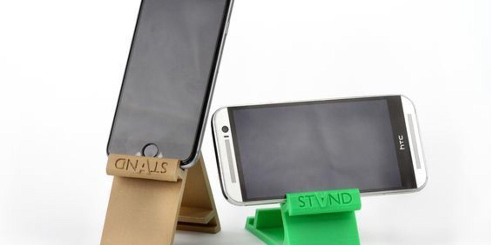 Un stand pour smartphone imprimé en 3D