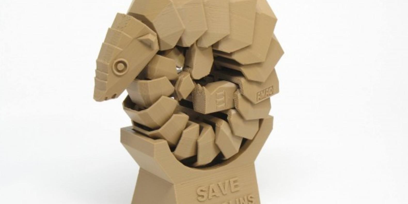 Le pangolin imprimable en 3D pour sauver l'espèce !