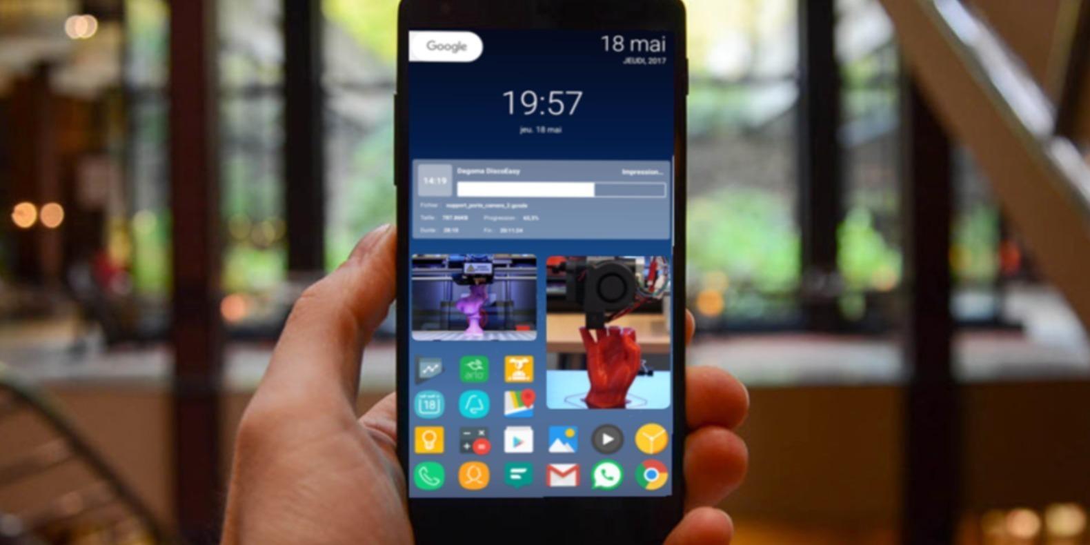 Printoid, l'interface Android la plus intelligente pour les serveurs OctoPrint et les imprimantes 3D.