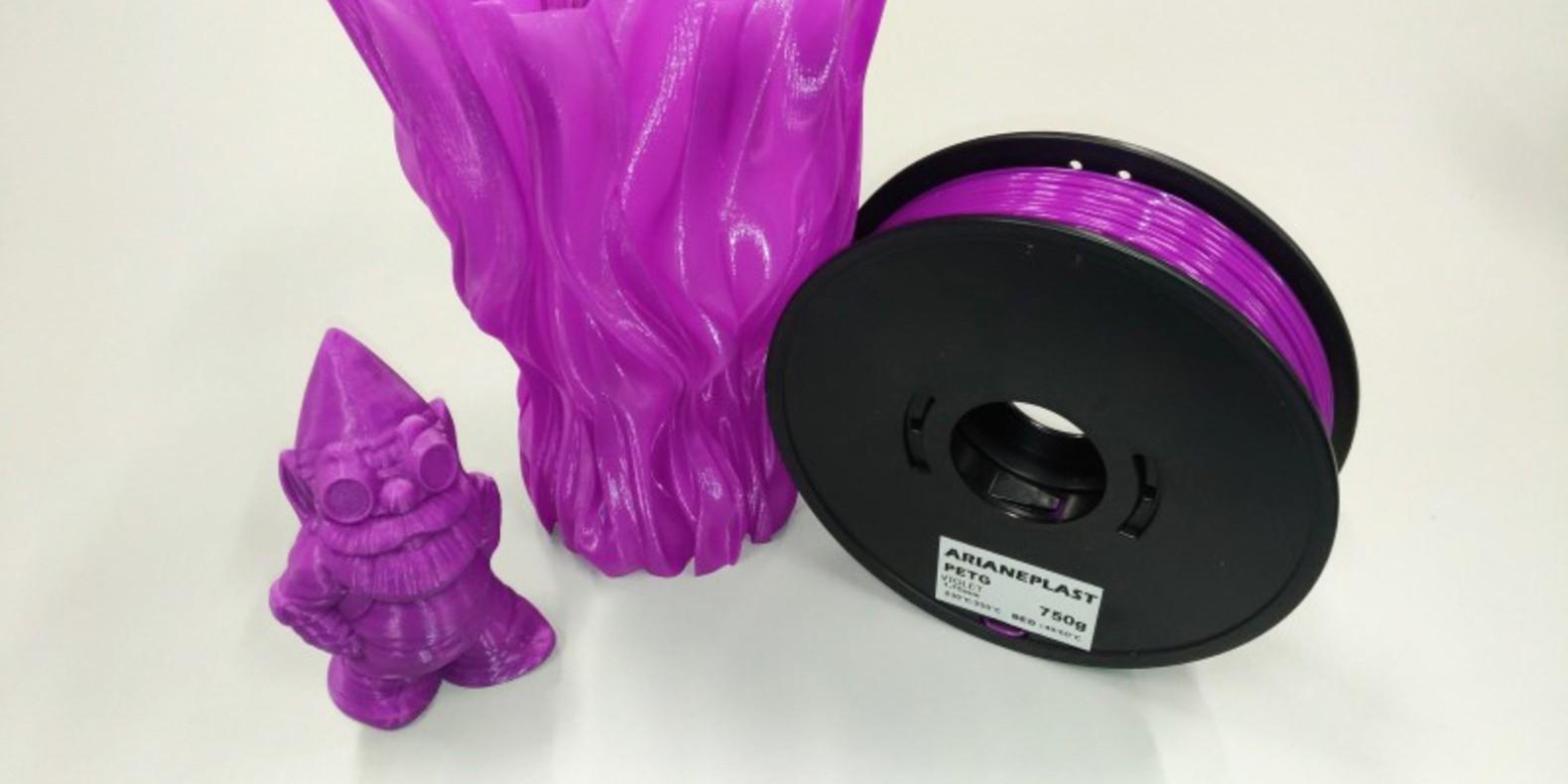 Nouvelle gamme de filaments PETG chez Arianeplast.