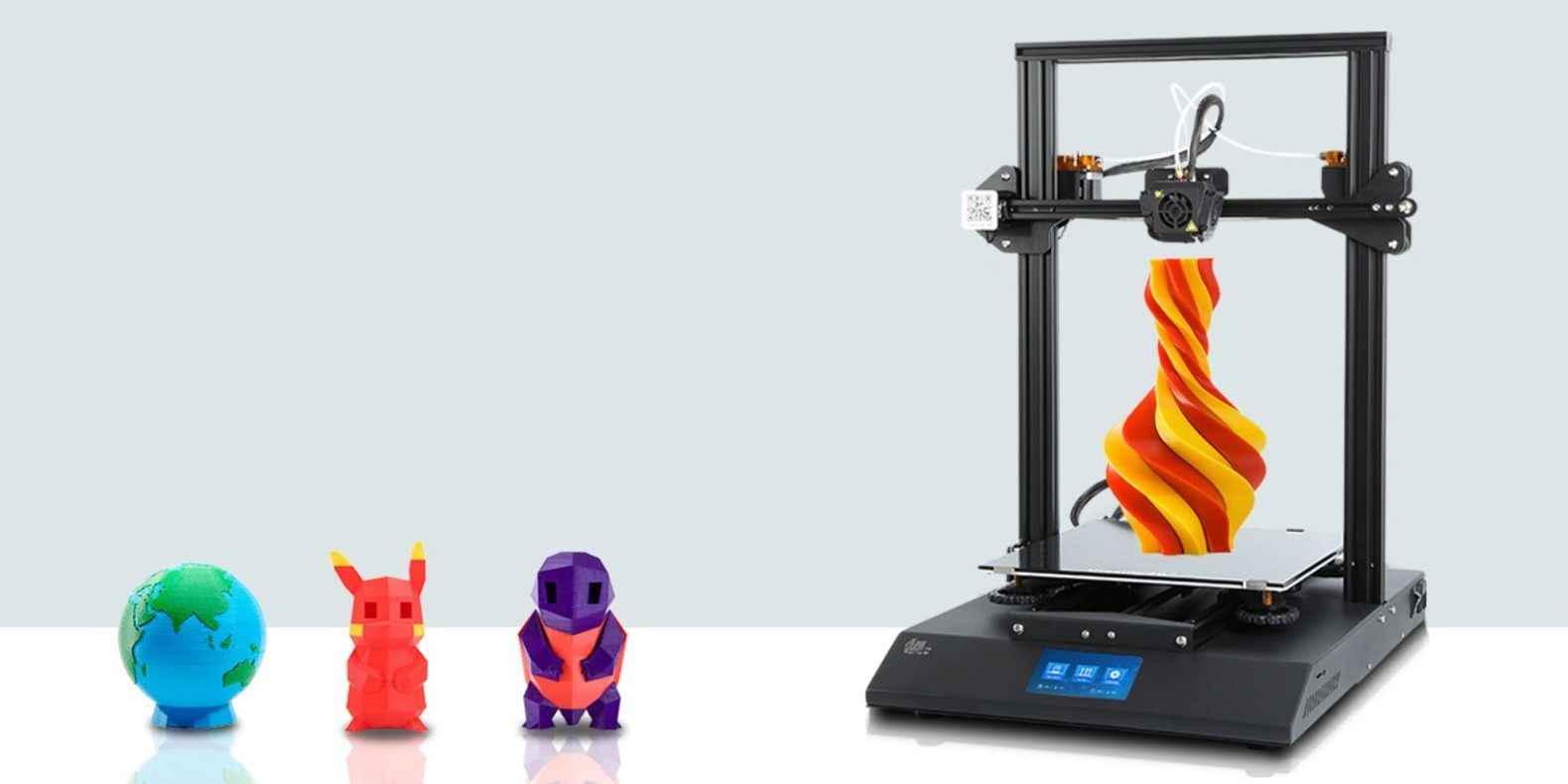 3D printer reviews: Creality3D CR10, Creality3D CR ENDRE 3 and Creality3D CR10S.