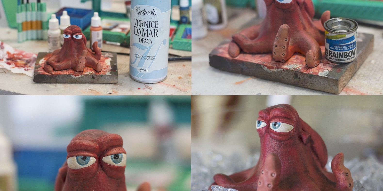 How to easily paint a 3D printed model