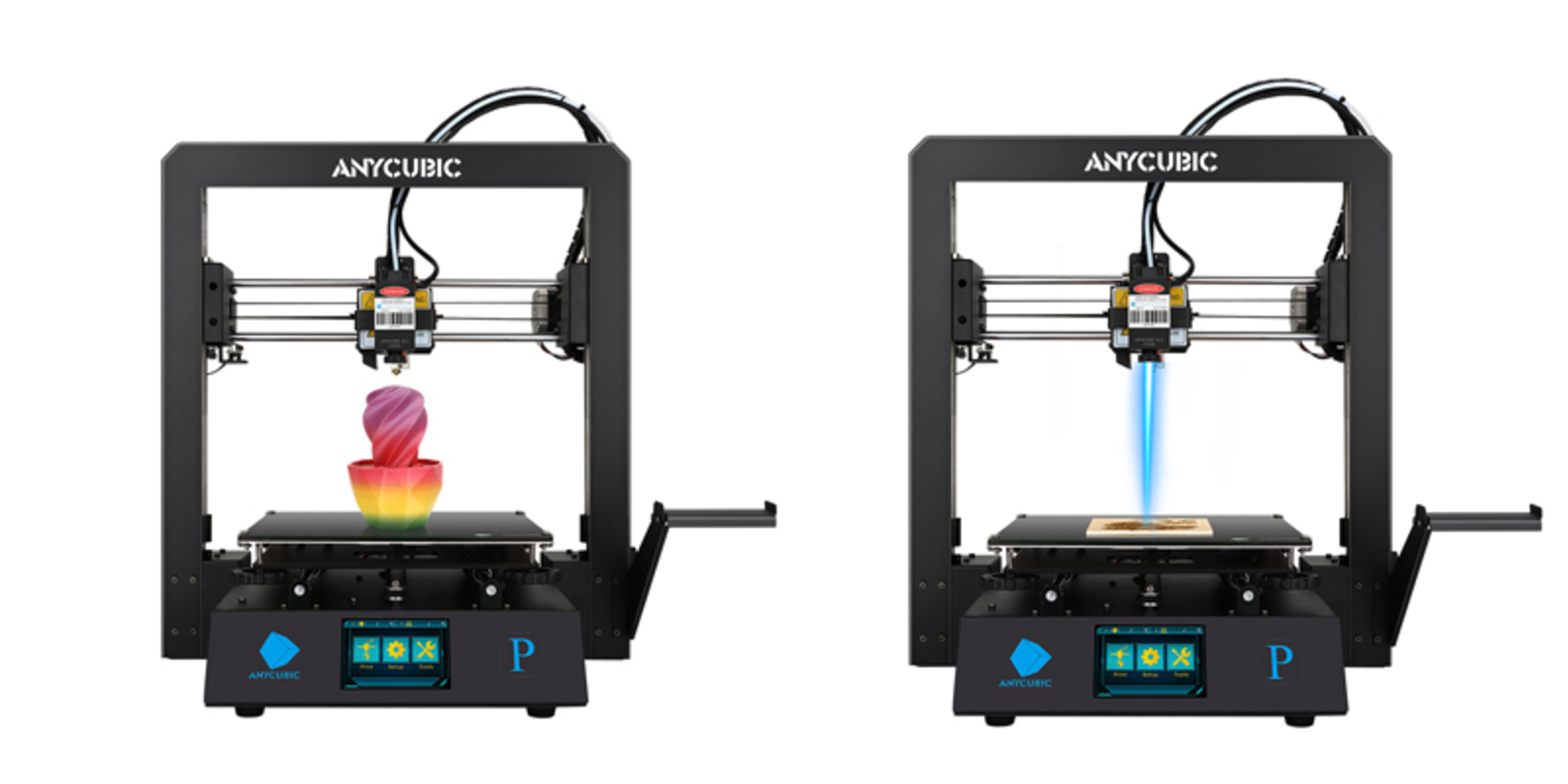 Anycubic Mega Pro: The New Arrival 2 In 1 Engraving 3D Printer