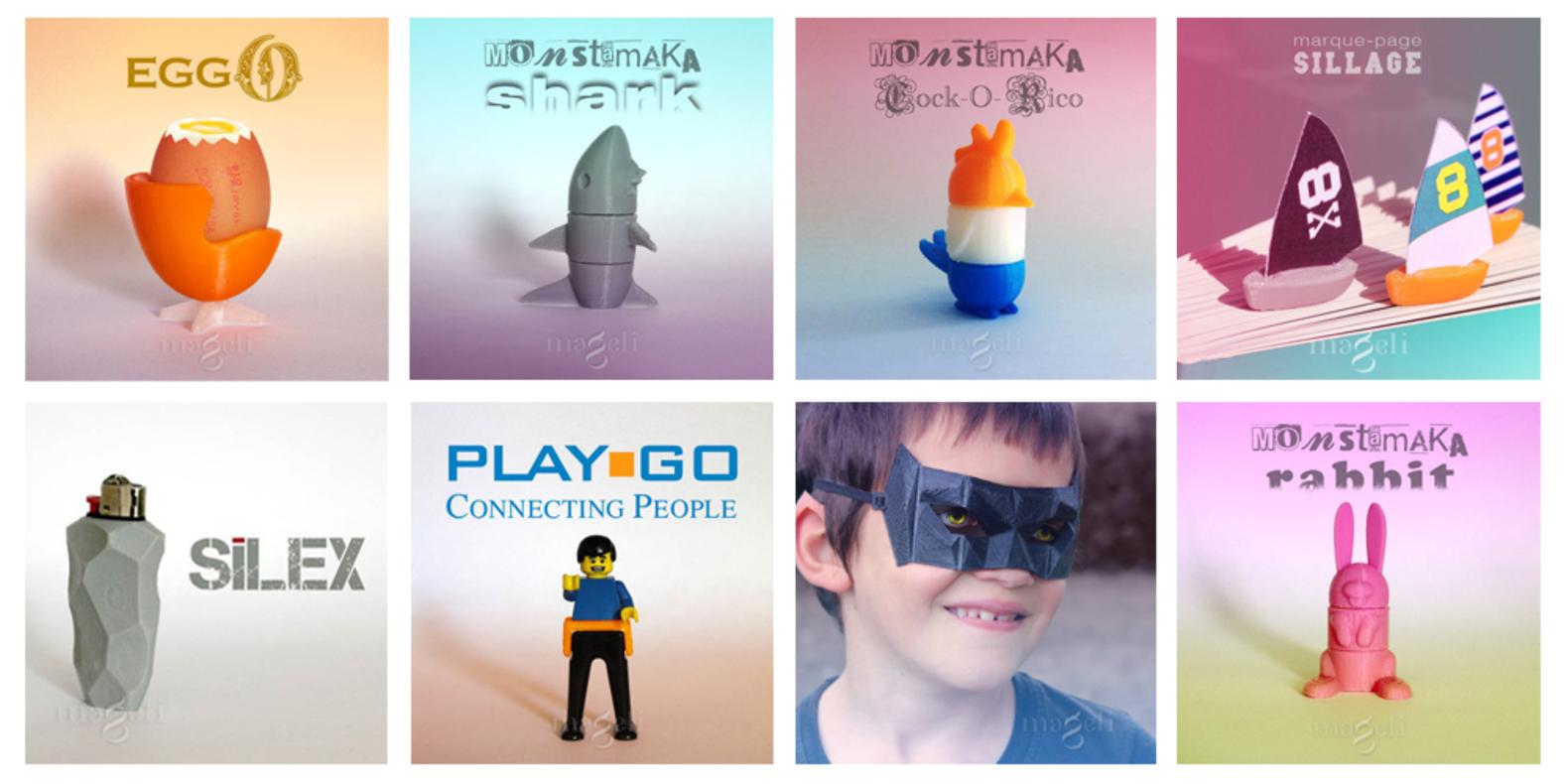 Interview de designers pour l'impression 3D : Mageli